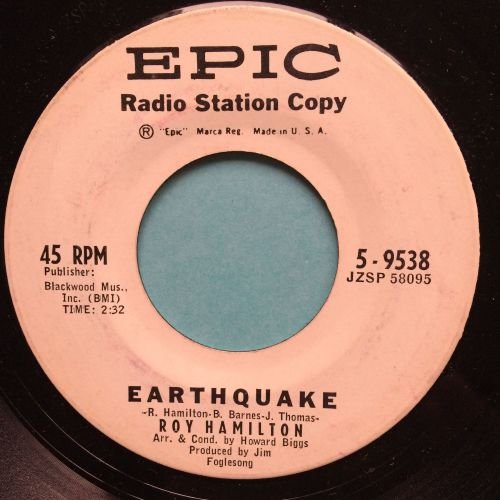 Roy Hamilton - Earthquake - Epic promo - Ex