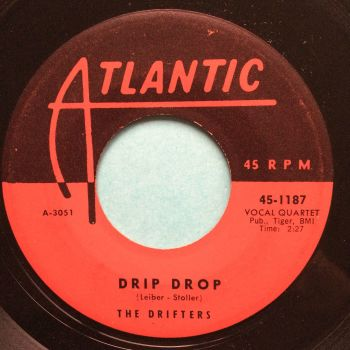 Drifters - Drip Drop - Atlantic - VG+