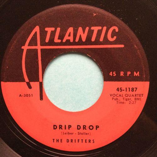 Drifters - Drip Drop - Atlantic - VG+