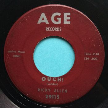 Ricky Allen - Ouch - Age - VG+