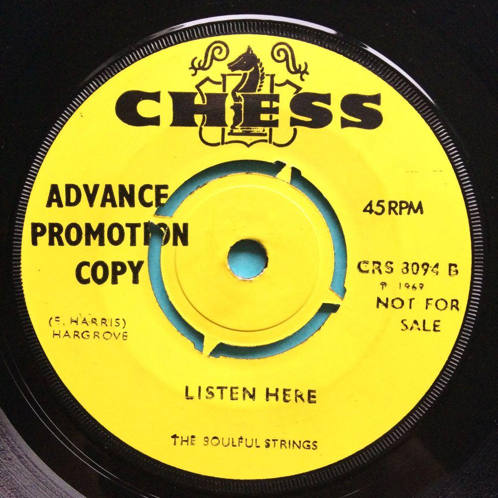 Soulful Strings - Listen Here - UK Chess demo - Ex