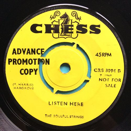 Soulful Strings - Listen Here - UK Chess demo - Ex