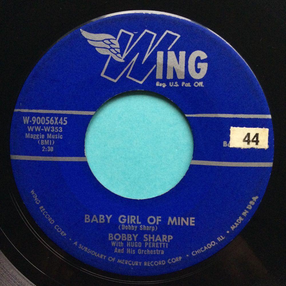 Bobby Sharp - Baby girl of mine - Wing - Ex-