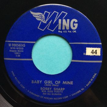 Bobby Sharp - Baby girl of mine - Wing - Ex-