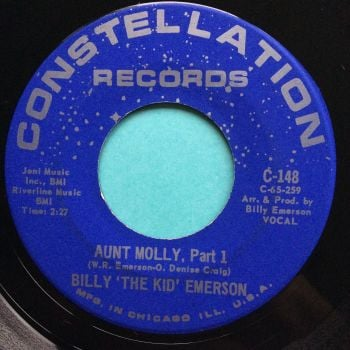 Billy 'The Kid' Emerson - Aunt Molly - Constellation - Ex-