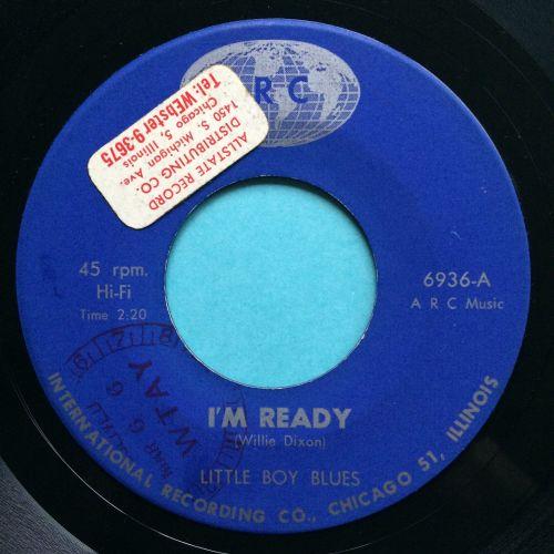 Little Boy Blues - I'm ready b/w Little Boy Blues Blues - IRC - Ex-