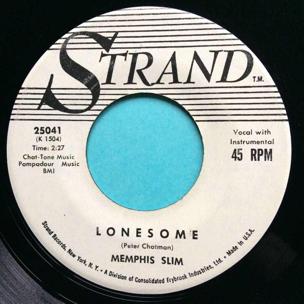 Memphis Slim - Lonesome - Strand promo - Ex