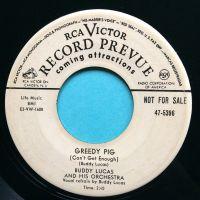 Buddy Lucas - Greedy Pig - RCA promo - VG+