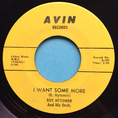 Roy Hytower - I want some more - Avin - Ex-
