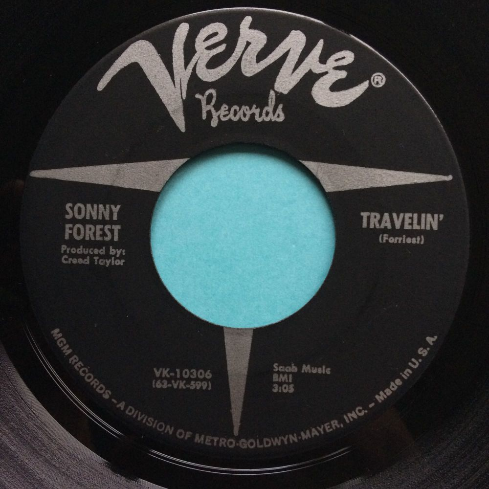 Sonny Forest - Travelin - Verve - Ex