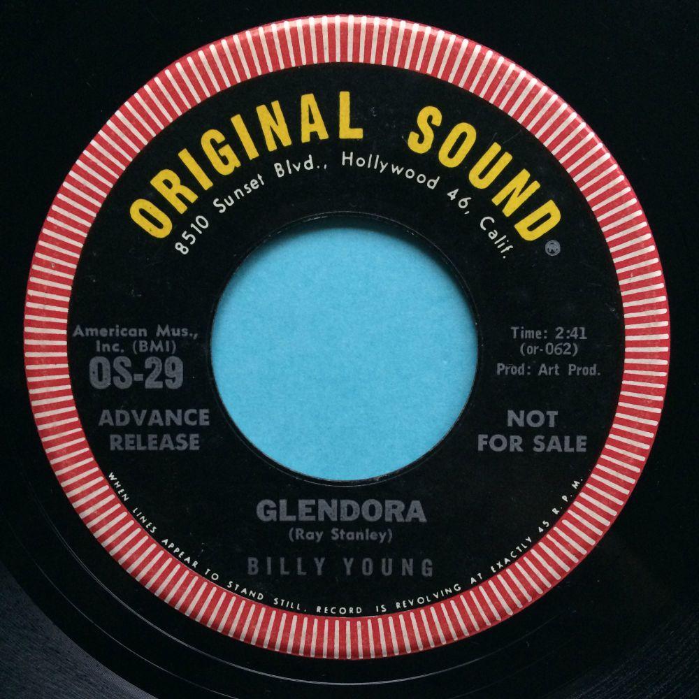 Billy Young - Glendora - Original Sound - Ex
