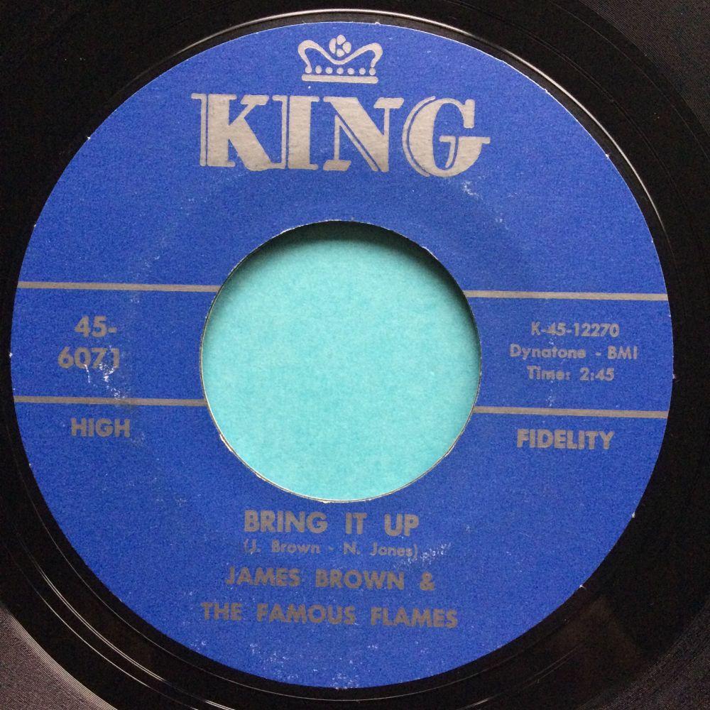 James Brown - Bring it up - King - Ex