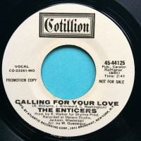 Enticers - Calling for your love - Cotillion promo - Ex