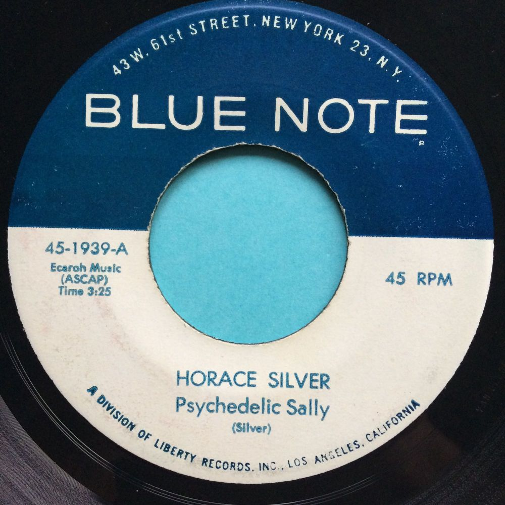 Horace Silver - Psychedelic Sally - Blue Note - Ex
