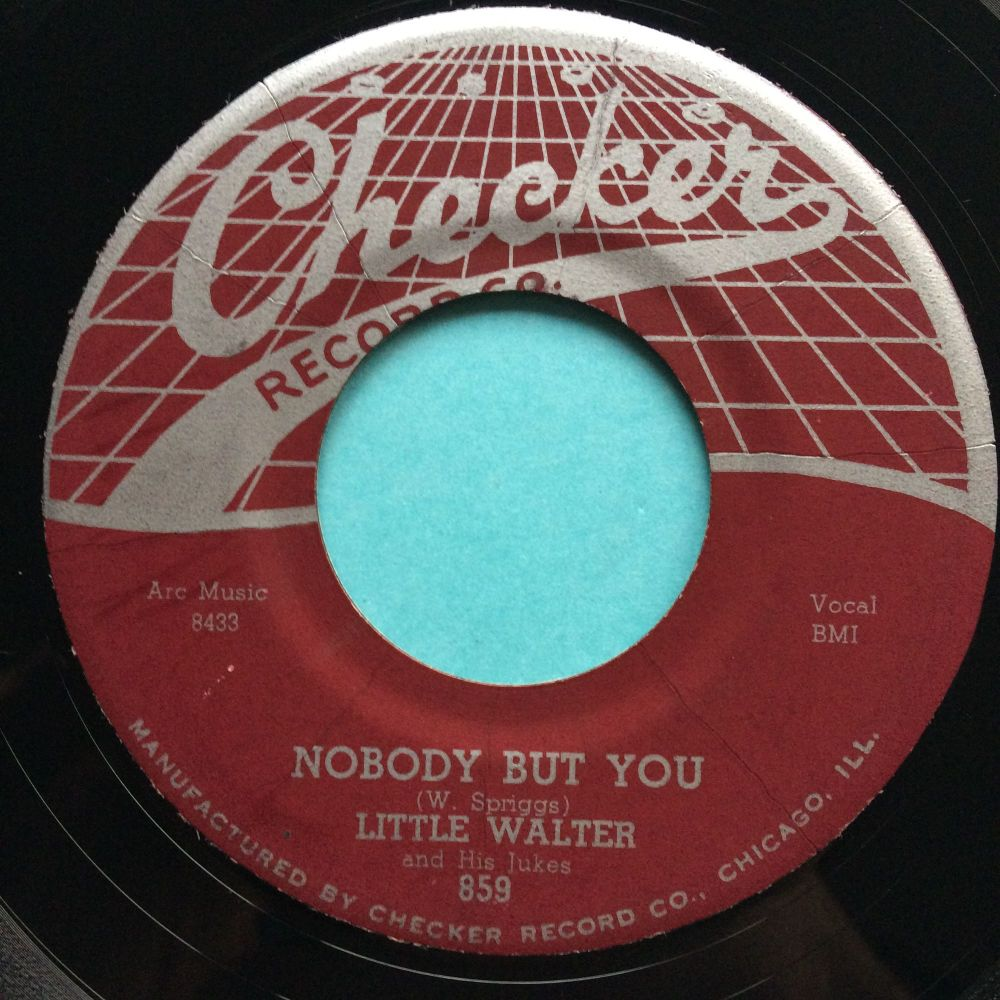 Little Walter - Nobody but you - Checker - Ex-