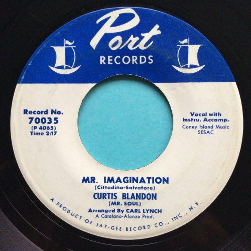Curtis Blandon - Mr. Imagination - Port - Ex-