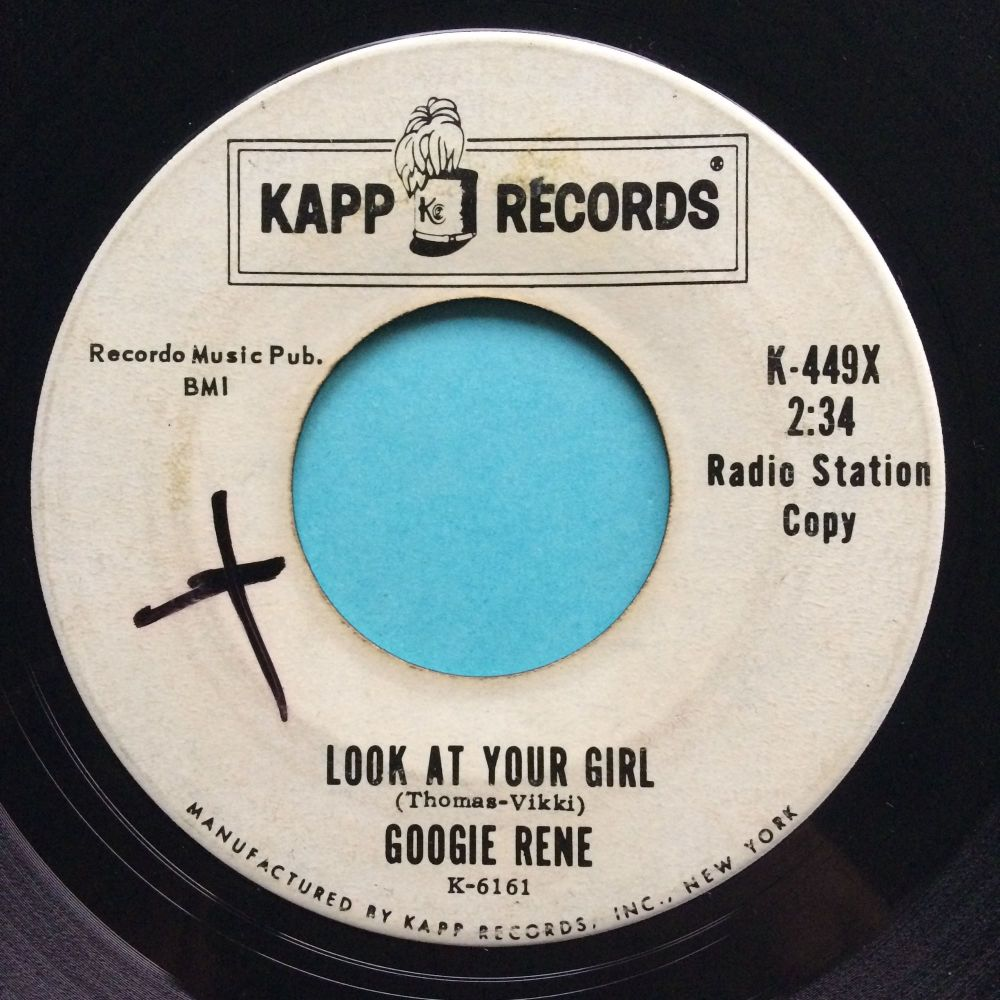 Googie Rene - Look at your girl - Kapp promo - VG+
