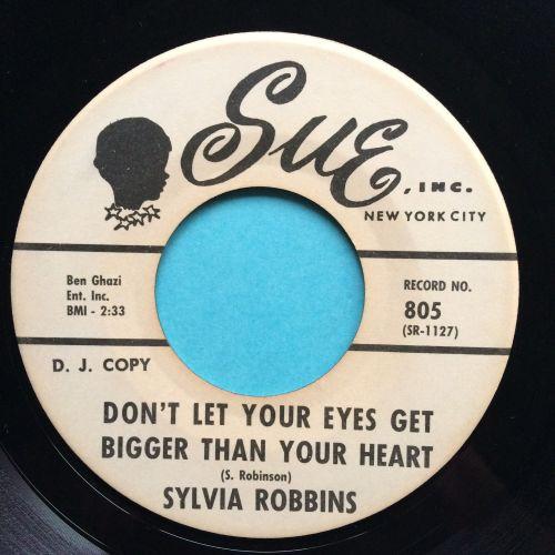 Sylvia Robbins - Don't let your eyes get bigger than your heart - Sue promo