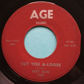 Ricky Allen - Cut you a-loose - Age - Ex-