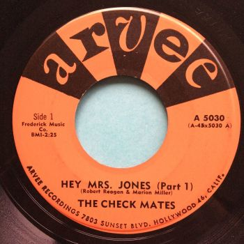 Check Mates - Hey Mrs. Jones - Arvee - Ex