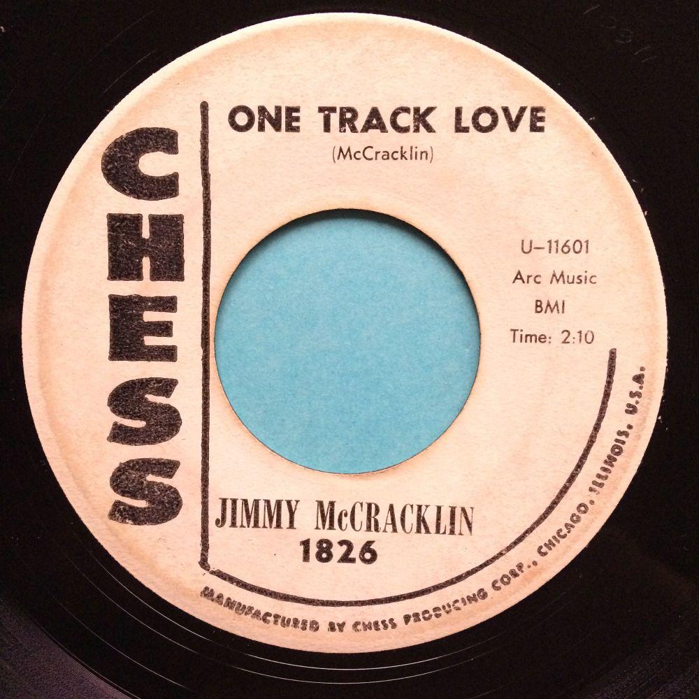 Jimmy McCracklin - One track love b/w Trottin' - Chess promo - VG+