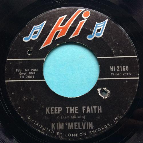 Kim Melvin  - Doin' the popcorn - Hi - VG+