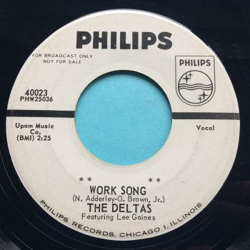 Deltas - Work Song - Philips promo - Ex-