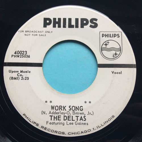 Deltas - Work Song - Philips promo - Ex-