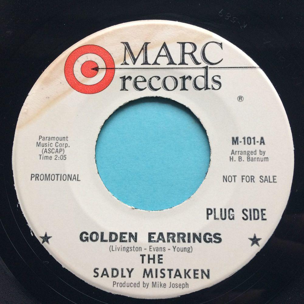 Sadly Mistaken - Golden Earrings - Marc promo - Ex- (label stain)