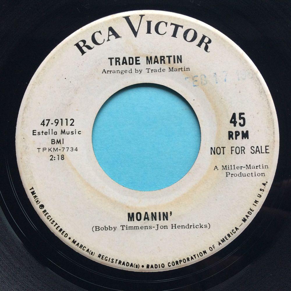 Trade Martin - Moanin' - RCA promo - VG+