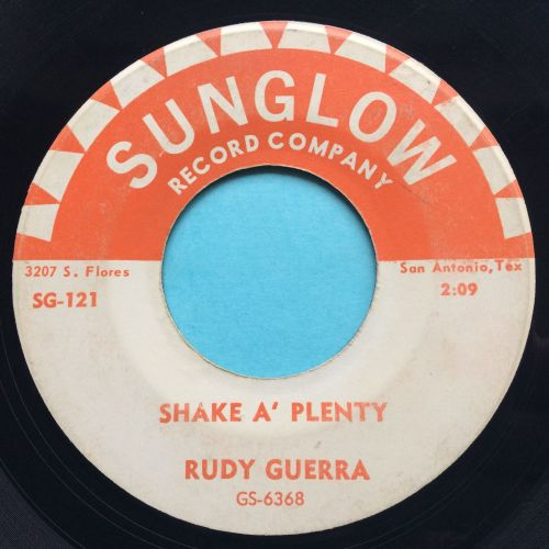 Rudy Guerra - Shake a' plenty - Sunglow - VG+