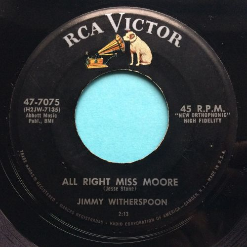 Jimmy Witherspoon - All right Miss Moore - RCA - Ex