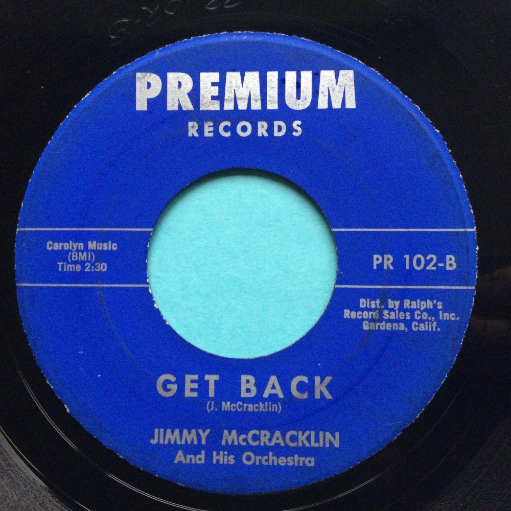 Jimmy McCracklin - Get back - Premium - Ex-