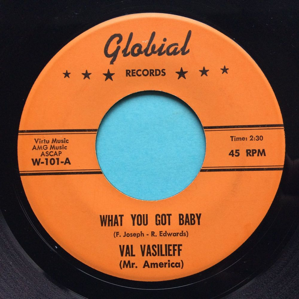 Val Vasilieff - What you got baby - Globial - Ex
