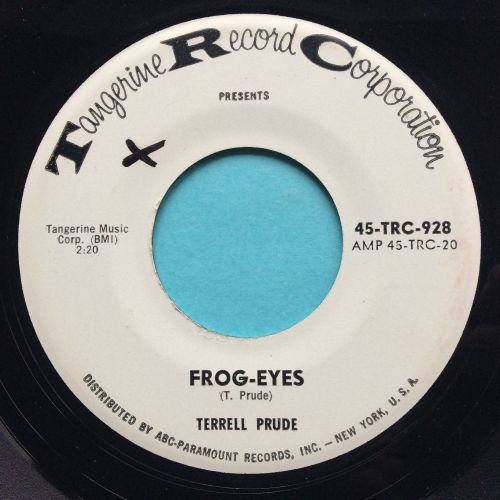 Terrell Prude - Frog-Eyes - Tangerine  promo - Ex