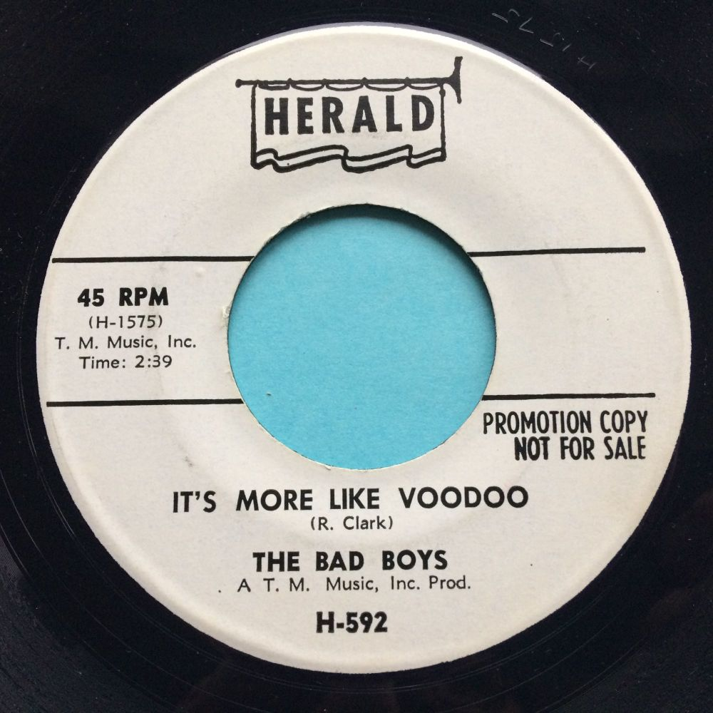 Bad Boys - It's more like voodoo - Herald promo - Ex