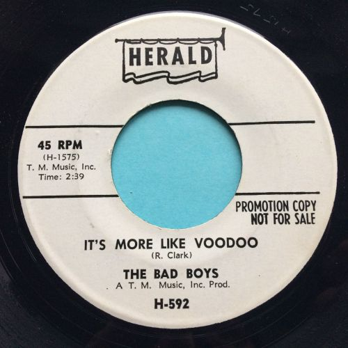 Bad Boys - It's more like voodoo - Herald promo - Ex