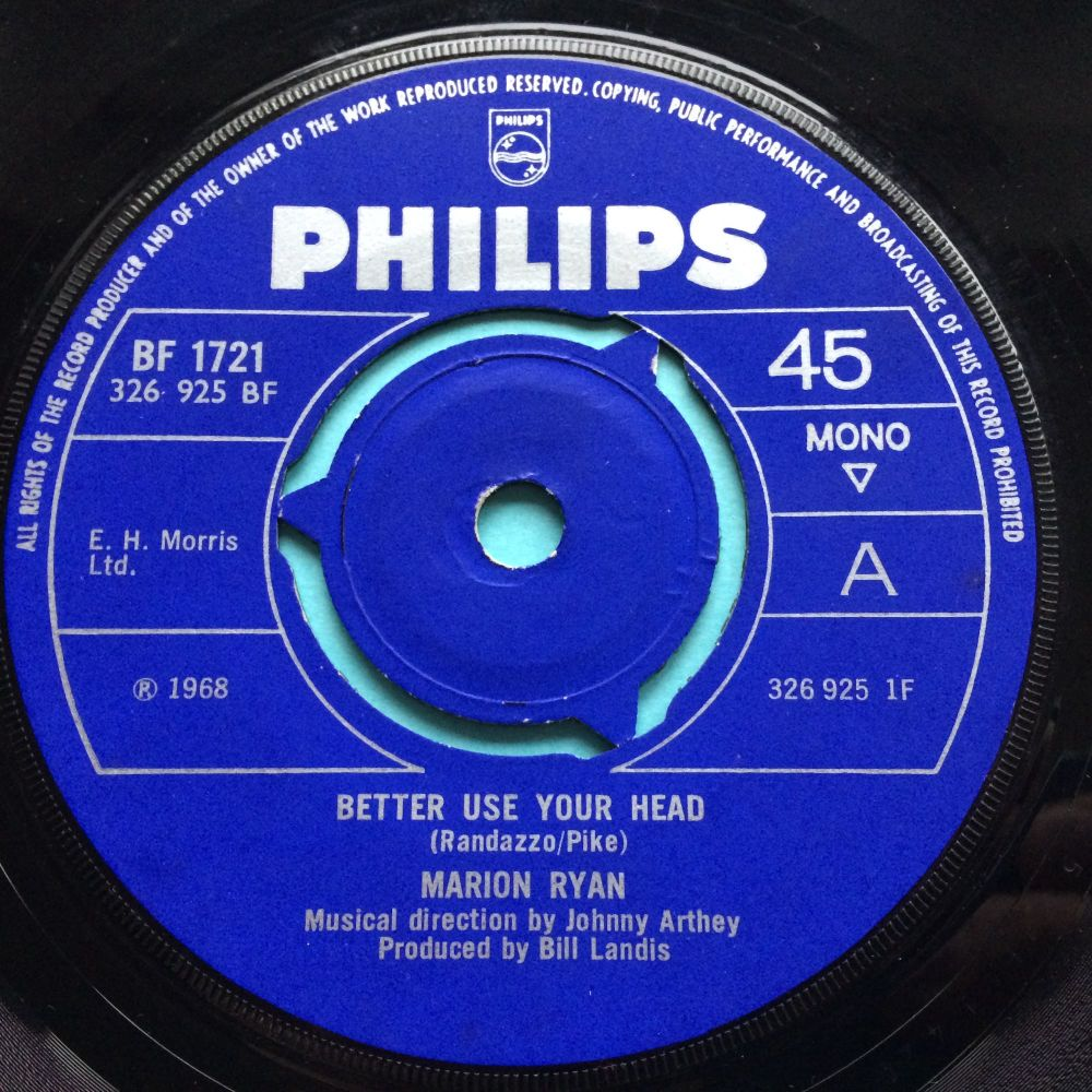Marion Ryan - Better use your head - UK Philips - Ex