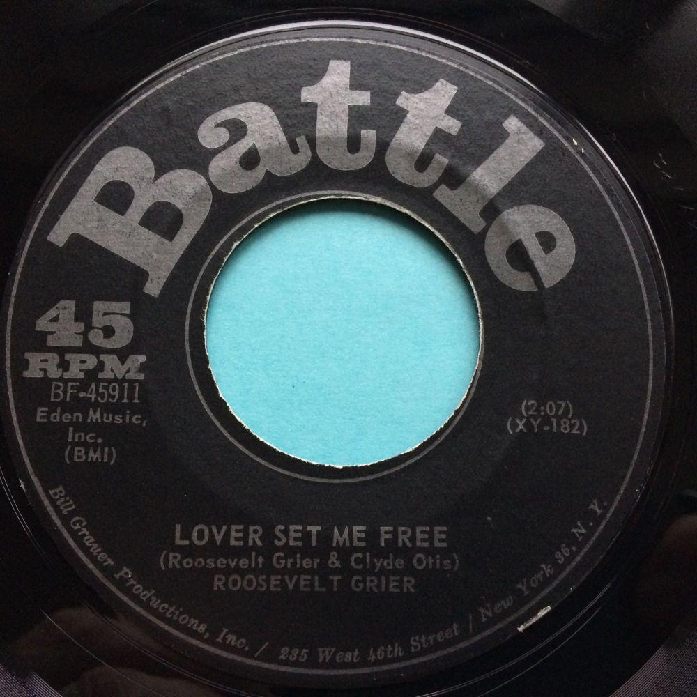 Roosevelt Grier - Lover set me free - Battle - Ex-