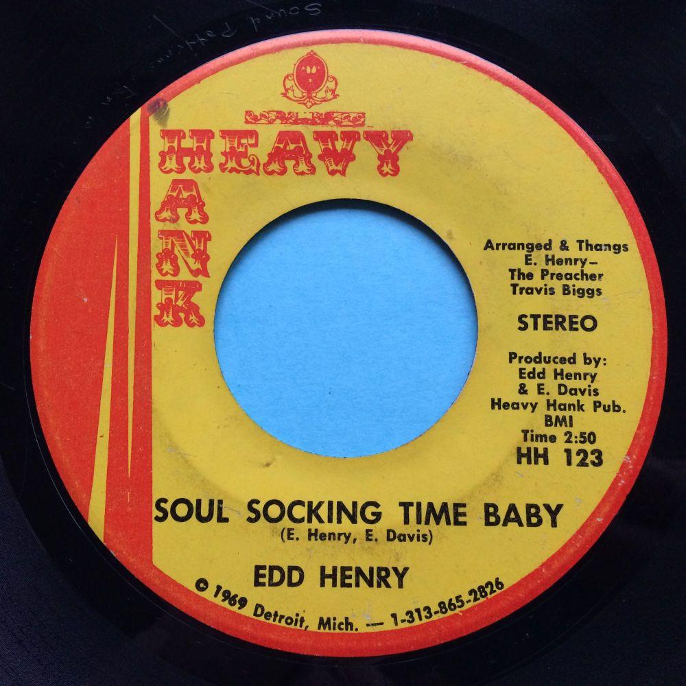 Edd Henry - Soul socking time baby - Heavy Hank - VG+