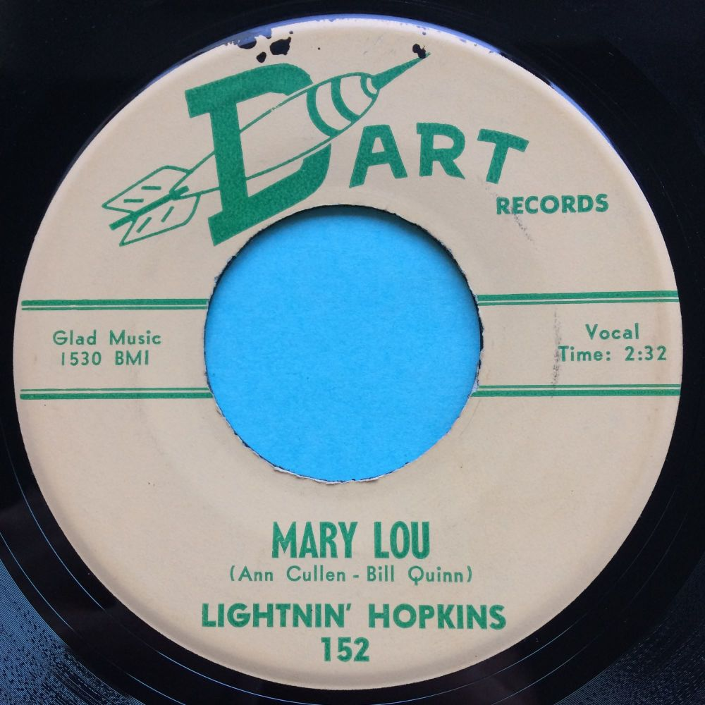 Lightnin' Hopkins - Mary Lou - Dart - Ex-