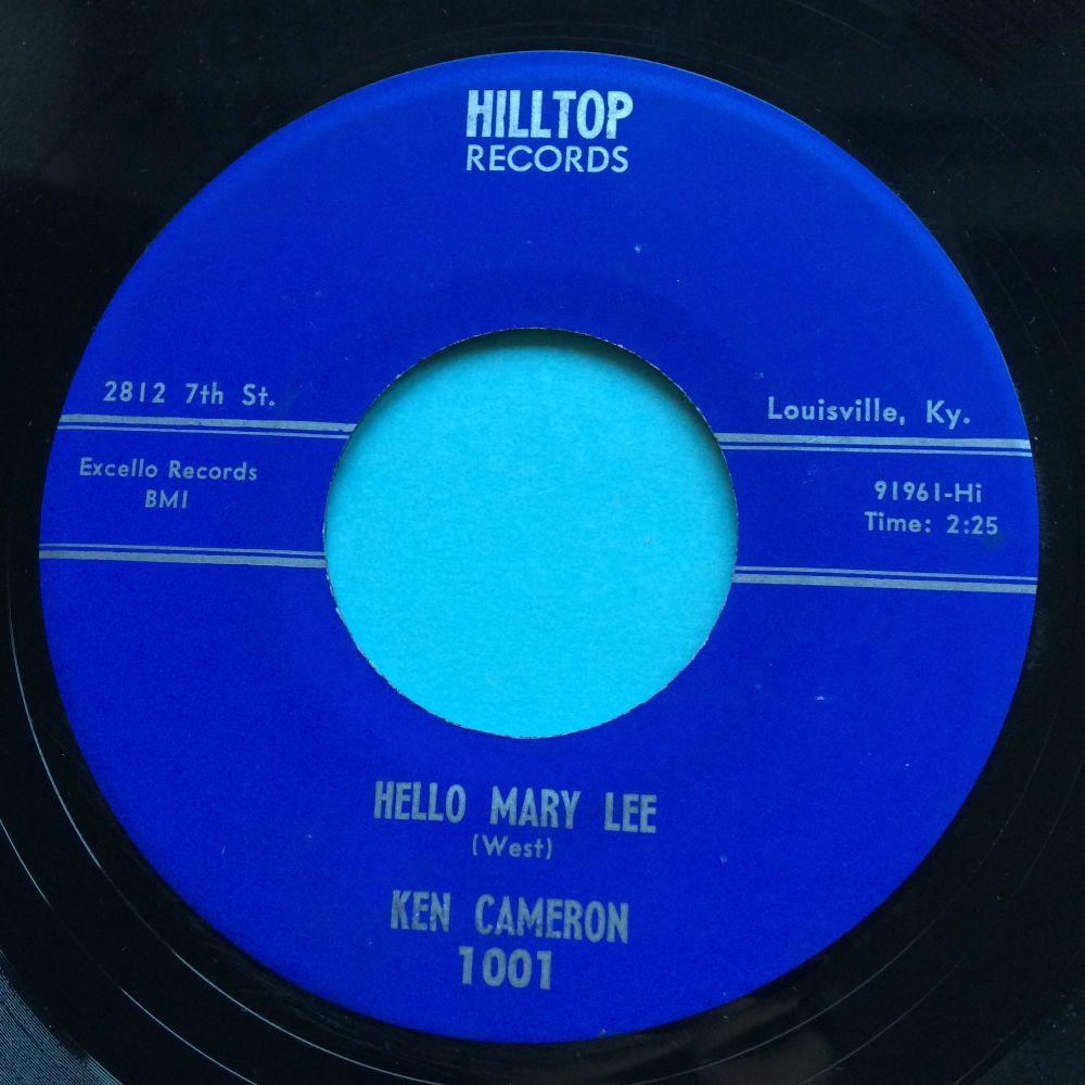 Ken Cameron  - Hello Mary Lee - Hilltop - Ex-