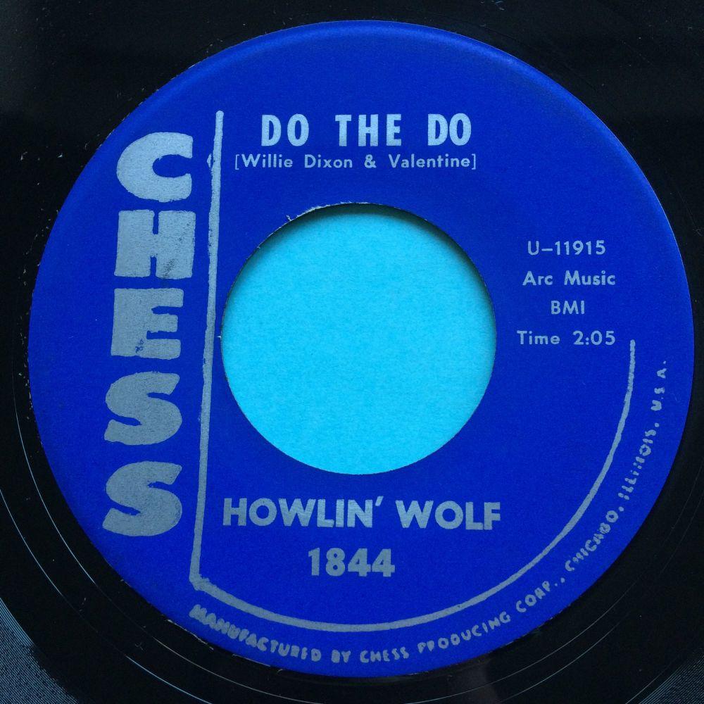 Howlin' Wolf - Do the do b/w Mamma's baby - Chess - Ex-