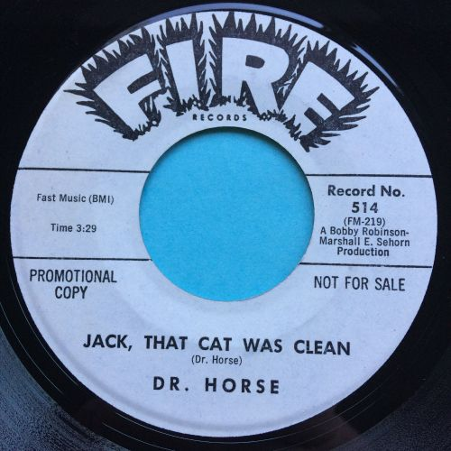 Dr. Horse - Jack, that cat was clean - Fire promo - Ex