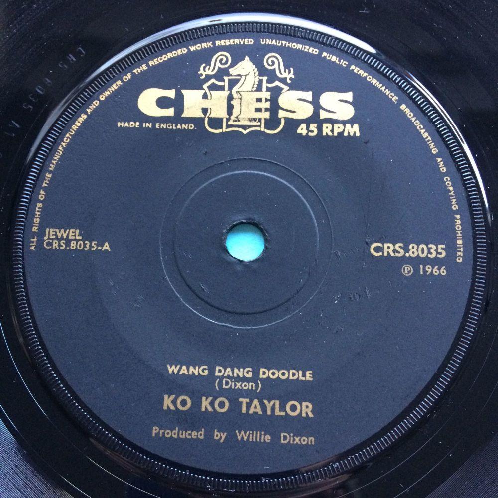 Ko Ko Taylor - Wang Dand Doodle - UK Chess - Ex