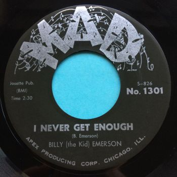 Billy 'The Kid' Emerson - I never get enough - Mad - Ex