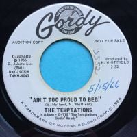 Temptations - Ain't too proud to beg - Gordy promo - Ex- (swol)