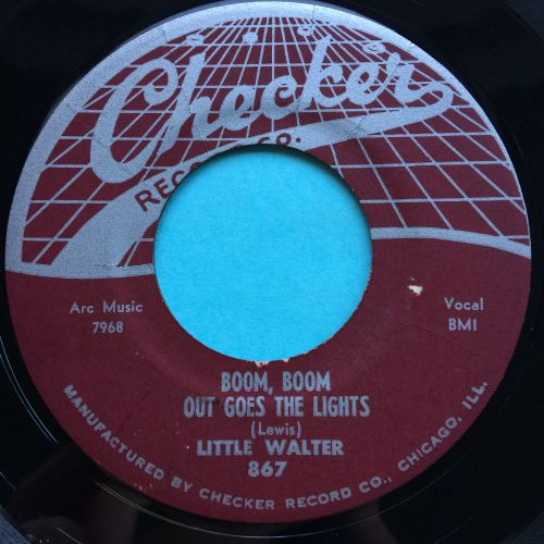 Little Walter - Boom, Boom, out go the lights - Checker - Ex-