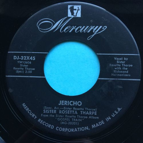 Sister Rosetta Tharpe - Jericho - Mercury - VG+
