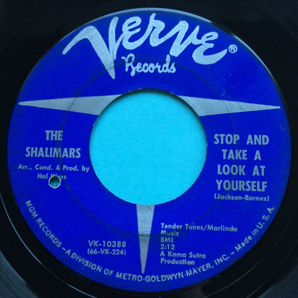 Shalimars - Stop and take a look at yourself - Verve - VG+
